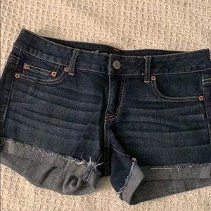 Dark denim Jean shorts